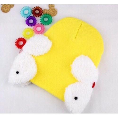 Mũ nón len che tai hình thỏ em bé - 13476490 , 21735771 , 15_21735771 , 45000 , Mu-non-len-che-tai-hinh-tho-em-be-15_21735771 , sendo.vn , Mũ nón len che tai hình thỏ em bé