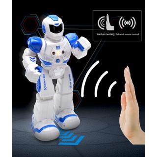 Robot Thông Minh Điều Khiển Cảm Ứng Tay , Điều Khiển Từ Xa Phiên Bản Tiếng Anh Màu Xanh - RBX03 thumbnail
