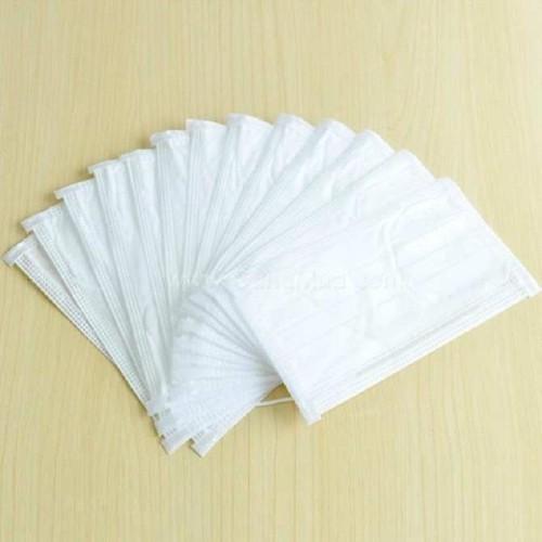 Khẩu trang y tế 4 lớp full trắng hộp 50 cái