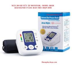 Máy Đo Huyết Áp Monitor B02R- Bảo Hành 5 Năm- 1 Đổi 1 Trong 1 Năm Đầu Sử Dụng