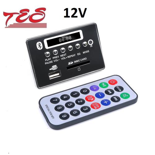 Mạch giải mã mp3 tích hợp bluetooth  12v mẫu 5