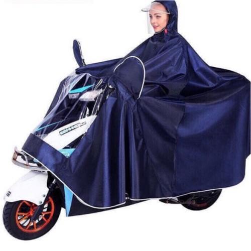 Áo mưa phản quang to kiểu mới trùm kín xe dày đẹp mẫu mới 2019