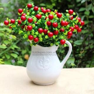 Cây nhựa chery đỏ - Cây Nhựa Cao Cấp - chery thumbnail