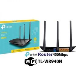 Router Wi-Fi Chuẩn N Tốc Độ 450Mbps TL-WR940N
