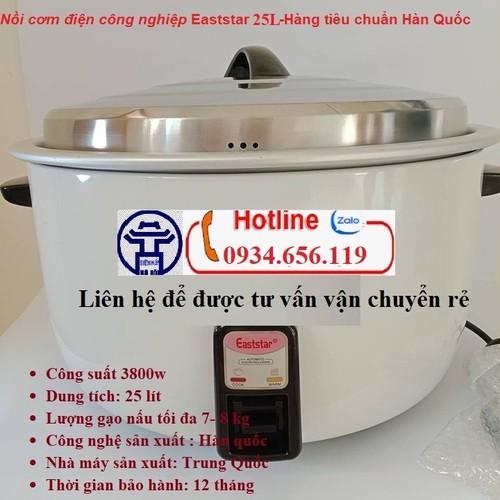 Bền – rẻ -đẹp –uy tín: nồi cơm điện công nghiệp eaststar 25l tiêu chuẩn hàn quốc – công suất 3000w, nấu tới 8kg gạo dành cho căng tin, khách sạn, trường học - 13464781 , 21722444 , 15_21722444 , 2399000 , Ben-re-dep-uy-tin-noi-com-dien-cong-nghiep-eaststar-25l-tieu-chuan-han-quoc-cong-suat-3000w-nau-toi-8kg-gao-danh-cho-cang-tin-khach-san-truong-hoc-15_21722444 , sendo.vn , Bền – rẻ -đẹp –uy tín: nồi cơm đ