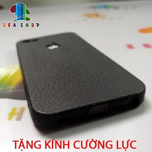 [Tặng kính cường lực] ốp lưng iphone 5-5s se vân da tự nhiên | ốp lưng ip5s se  nhựa dẻo siêu bền | case iphone5s  - hà nội store