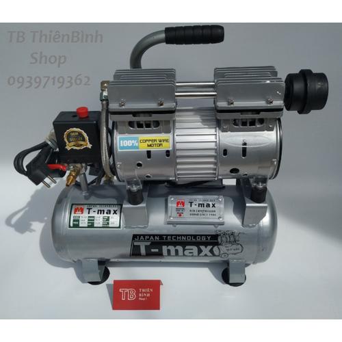 Máy nén khí êm không dầu 12l 0.75 hp tmax - 13476967 , 21736266 , 15_21736266 , 2100000 , May-nen-khi-em-khong-dau-12l-0.75-hp-tmax-15_21736266 , sendo.vn , Máy nén khí êm không dầu 12l 0.75 hp tmax