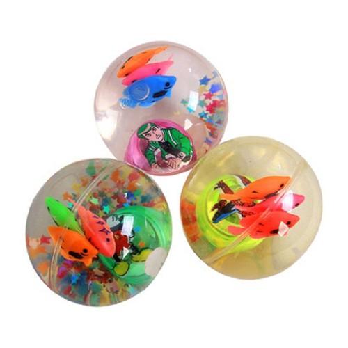 Đồ chơi bóng nảy phát sáng -pi 7cm, bong bóng trong
