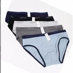 Combo 5 quần lót nam xuất Nhật cực chất, cotton lạnh thoáng mát.