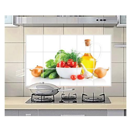 Tranh dán bếp | tranh nhà ăn | tranh dán bếp 60x90cm giao mẫu ngẫu nhiên