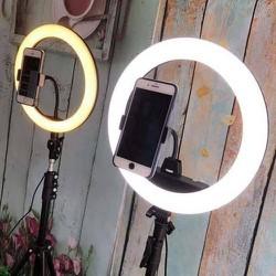 Đèn led live stream đèn makeup 26cm siêu chắc chắn và sáng - SHOP PHỤ KIỆN TT