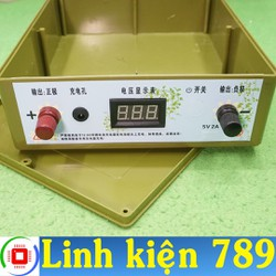 Vỏ ắc quy lithium 31x24x7.2cm - Linh Kiện 789