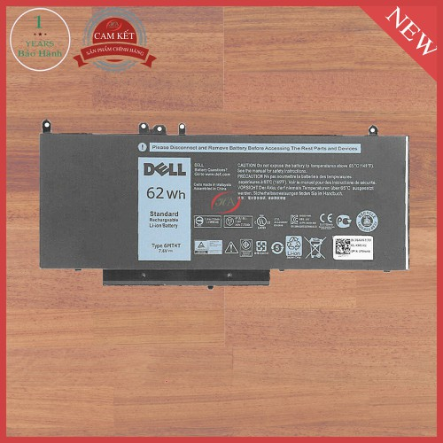 Pin laptop dell 6mt4t