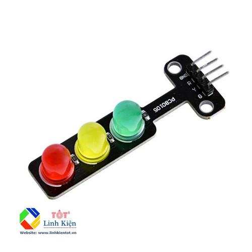 Module led giao thông 3 màu 5v - arduino, raspberry pi, microbit