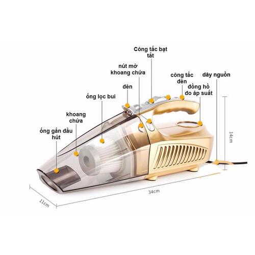 Máy hút bụi kiêm bơm lốp đa năng 4 trong 1 cho ô tô - 13493703 , 21755187 , 15_21755187 , 490000 , May-hut-bui-kiem-bom-lop-da-nang-4-trong-1-cho-o-to-15_21755187 , sendo.vn , Máy hút bụi kiêm bơm lốp đa năng 4 trong 1 cho ô tô