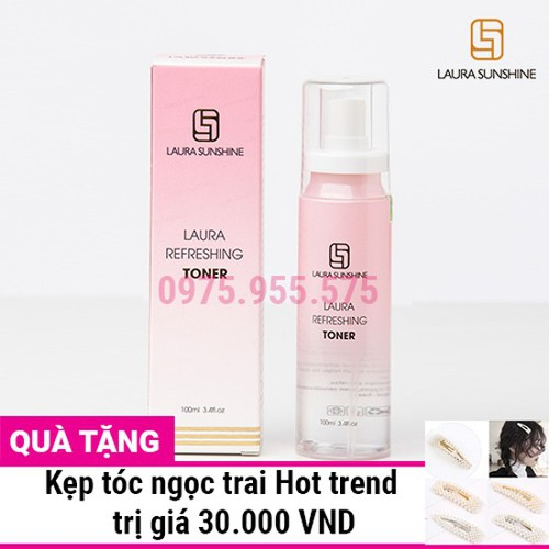 Tinh chất hoa hồng laura sunshine refreshing toner 100ml