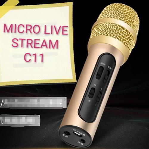 Micro c11 thu âm live stream loại cao cấp kèm tai phone - 13492878 , 21754247 , 15_21754247 , 215000 , Micro-c11-thu-am-live-stream-loai-cao-cap-kem-tai-phone-15_21754247 , sendo.vn , Micro c11 thu âm live stream loại cao cấp kèm tai phone