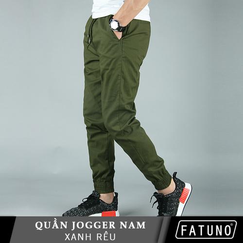 [Trẻ trung-cá tính] quần jogger kaki nam