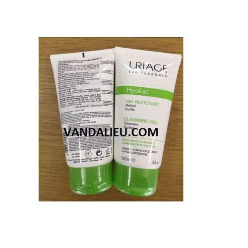 Gel rửa mặt cho da dầu và da mụn uriage hyseac 150ml - 17508490 , 21762775 , 15_21762775 , 354000 , Gel-rua-mat-cho-da-dau-va-da-mun-uriage-hyseac-150ml-15_21762775 , sendo.vn , Gel rửa mặt cho da dầu và da mụn uriage hyseac 150ml