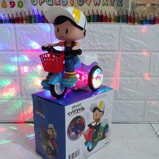 Em bé đi xe đạp có đèn nhạc phát sáng - Em bé đi xe đạp thumbnail