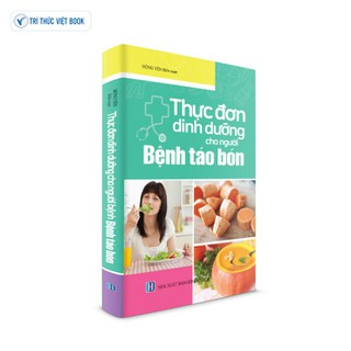 Sách y học - Thực đơn dinh dưỡng cho người bệnh táo bón - 9786048966553 thumbnail