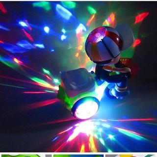 Xe đồ chơi cho bé xoay 360 độ có nhạc và đèn - Đồ chơi bé đi xe đạp phát nhạc - Đồ chơi bé đi xe đạp phát nhạc thumbnail
