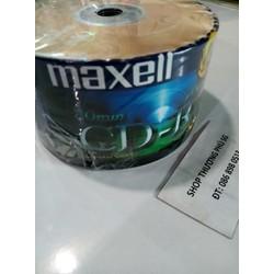 Đĩa trăng CD-R MAXELL CD-R 80 MQ TAIWAN - 52X - 700MB - 80MIN _ Lốc 50 Cái