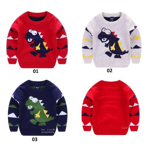 Áo len 2 lớp cao cấp dành cho bé trai và bé gái 1-6 tuổi
