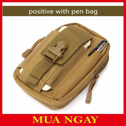 Túi đeo hông thắt lưng rằn ri