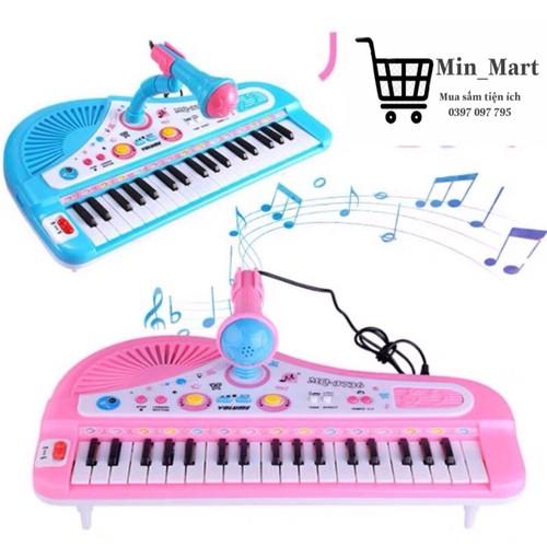 Đàn piano trung 37 phím - đàn piano cho bé - đàn piano 37 phím kèm micro