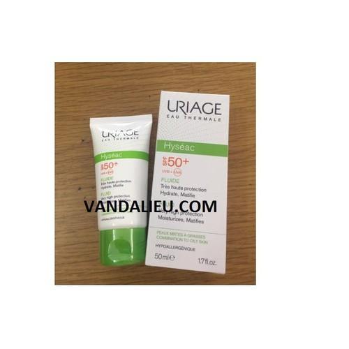 Kem chống nắng dành cho da dầu và mụn uriage hyseac fluide 50ml - 13500008 , 21762405 , 15_21762405 , 525000 , Kem-chong-nang-danh-cho-da-dau-va-mun-uriage-hyseac-fluide-50ml-15_21762405 , sendo.vn , Kem chống nắng dành cho da dầu và mụn uriage hyseac fluide 50ml