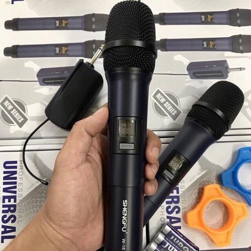 Micro không dây shengfu w15 - chống hú tốt - 2 tay mic - 17520970 , 21778603 , 15_21778603 , 1499000 , Micro-khong-day-shengfu-w15-chong-hu-tot-2-tay-mic-15_21778603 , sendo.vn , Micro không dây shengfu w15 - chống hú tốt - 2 tay mic