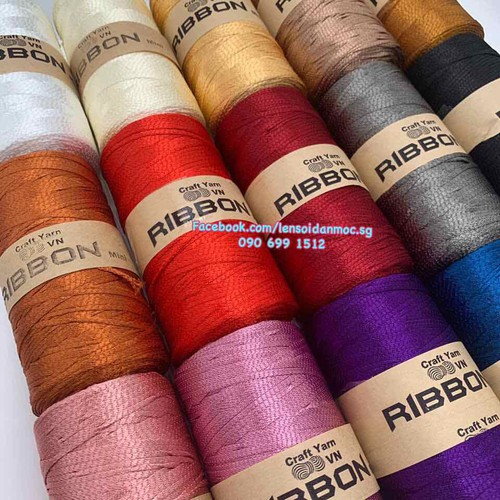 Combo 10 cuộn sợi ribbon 2mm