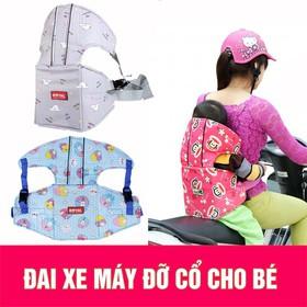Đai đỡ cổ đi xe máy cho bé Hàng loại tốt - dai12