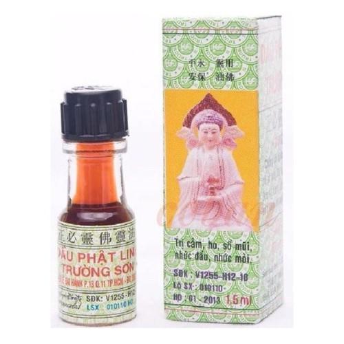 5 lọ dầu phật linh trường sơn bé