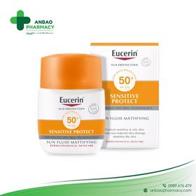 Eucerin 63840 chống nắng 50ml Sun fluid SPF 50+ - TH2406