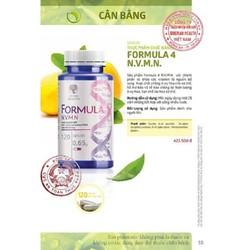 Thực phẩm chức năng Novomin Formula 4 phục hồi tế bào, ngăn ngừa ung thư từ Nga