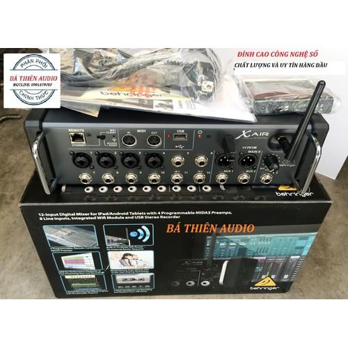 Mixer kỹ thuật số behringer xr12-thiết bị xử lý âm thanh chuyên nghiệp