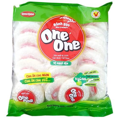 Bánh gạo vị ngọt dịu one one gói 230g - 17525675 , 21784533 , 15_21784533 , 28000 , Banh-gao-vi-ngot-diu-one-one-goi-230g-15_21784533 , sendo.vn , Bánh gạo vị ngọt dịu one one gói 230g