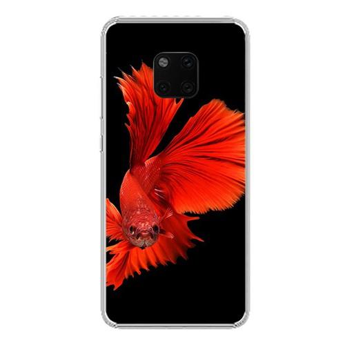Ốp lưng điện thoại huawei mate 20 pro - 0175 fish01 - silicone dẻo