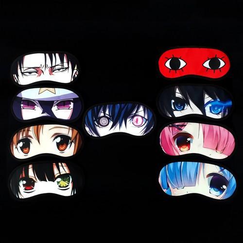 Combo bịt mắt ngủ anime đủ loại