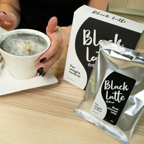 Cafe giảm cân black latte hàng nga