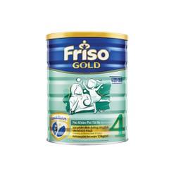 Sữa bột Friso Gold4 - Hộp thiếc 1500g mẫu mới. Date 2021
