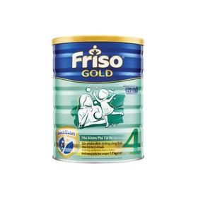 Sữa bột Friso Gold4 - Hộp thiếc 1500g mẫu mới. Date 2021 - FRISO4-1500