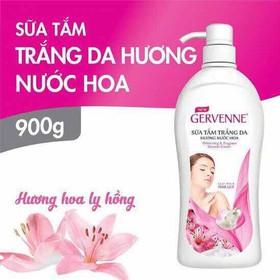 Sữa tắm Gervenne trắng da hương nước hoa lily hồng 900G - hong geven