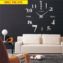 Đồng hồ dán tường - đồng hồ dán tường