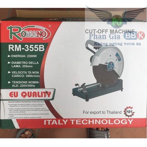Máy cắt sắt romano 2300w - romano 2300w