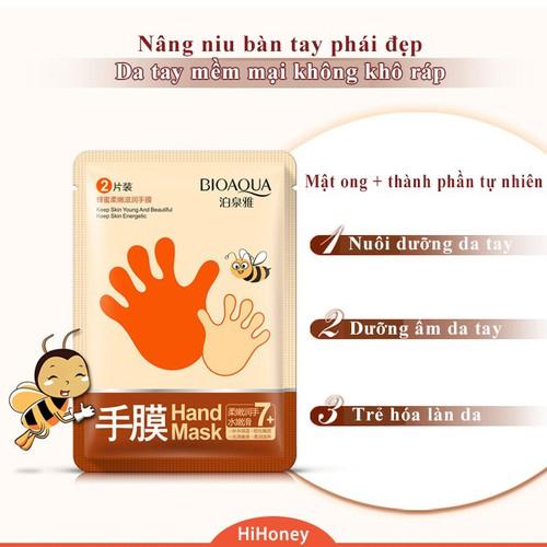 Mặt nạ dưỡng ẩm,chăm sóc da tay bioaqua [m.29]