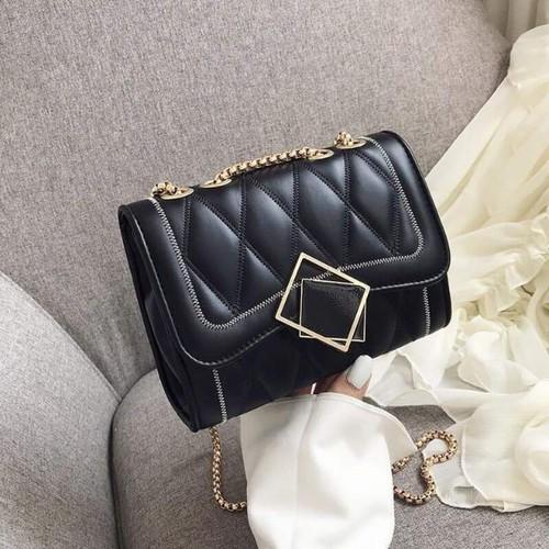 Túi xách thời trang nữ khóa kim loại siêu sang