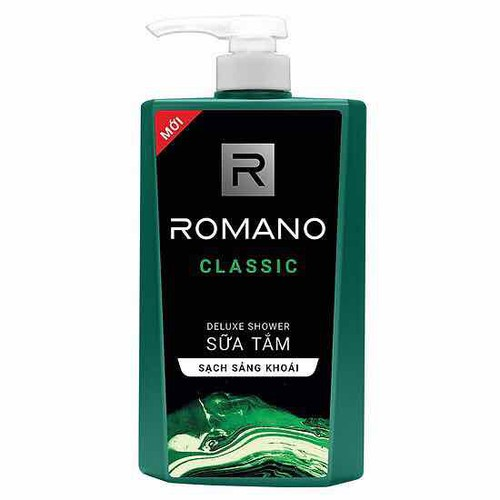 Sữa tắm romano 650ml